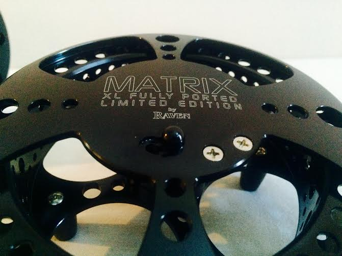 Raven Matrix Fully Ported Limited Edition Northeastern Fine Fishing Company